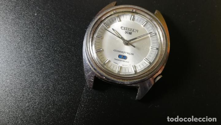 Recambios de relojes: RELOJ CITIZEN COSMOTRON, para reparar o para piezas, miren las fotos - Foto 8 - 157988902