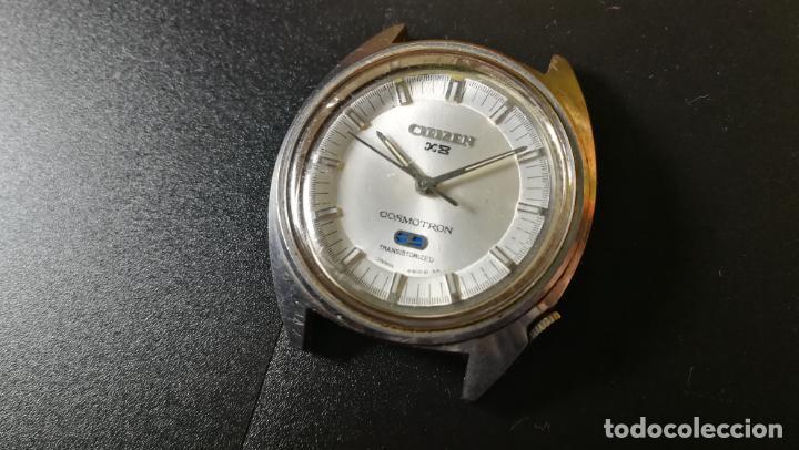 Recambios de relojes: RELOJ CITIZEN COSMOTRON, para reparar o para piezas, miren las fotos - Foto 9 - 157988902
