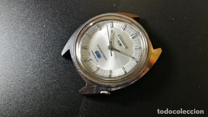 Recambios de relojes: RELOJ CITIZEN COSMOTRON, para reparar o para piezas, miren las fotos - Foto 10 - 157988902