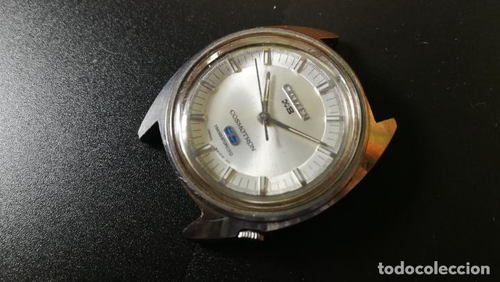 Recambios de relojes: RELOJ CITIZEN COSMOTRON, para reparar o para piezas, miren las fotos - Foto 11 - 157988902