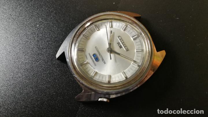 Recambios de relojes: RELOJ CITIZEN COSMOTRON, para reparar o para piezas, miren las fotos - Foto 12 - 157988902