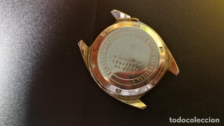 Recambios de relojes: RELOJ CITIZEN COSMOTRON, para reparar o para piezas, miren las fotos - Foto 13 - 157988902