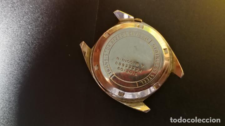 Recambios de relojes: RELOJ CITIZEN COSMOTRON, para reparar o para piezas, miren las fotos - Foto 14 - 157988902