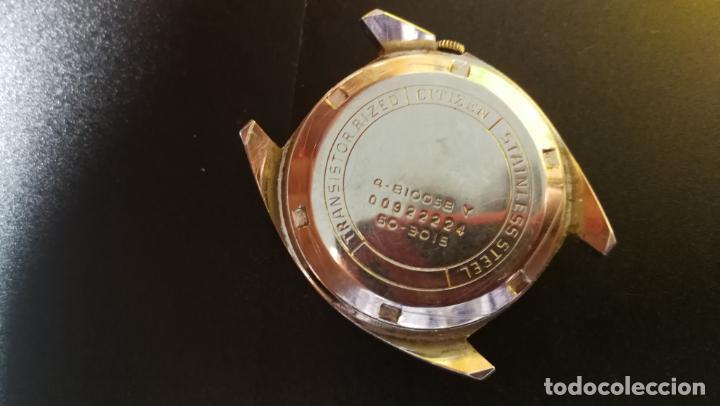 Recambios de relojes: RELOJ CITIZEN COSMOTRON, para reparar o para piezas, miren las fotos - Foto 15 - 157988902