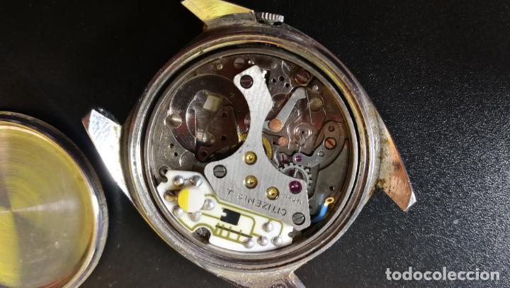 Recambios de relojes: RELOJ CITIZEN COSMOTRON, para reparar o para piezas, miren las fotos - Foto 23 - 157988902