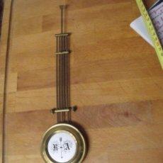Recambios de relojes: ANTIGUO PENDULO PARA RELOJ ALFONSINO- ENGANCHE TRAPEZOIDAL TIPO GUSTAV BECKER- LOTE 165. Lote 158016458