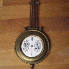 Recambios de relojes: ANTIGUO PENDULO PARA RELOJ ALFONSINO- LOTE 165. Lote 158026122