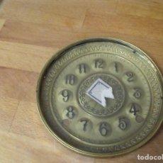 Ricambi di orologi: ESFERA CON CRISTAL Y PUERTA DELANTERA PARA RELOJ REGULADOR- LOTE 165. Lote 158059458
