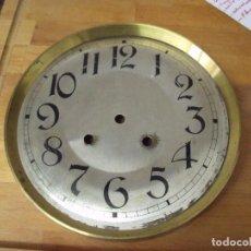Recambios de relojes: GRAN ESFERA DE CHAPA PARA RELOJ REGULADOR- LOTE 165. Lote 158064730