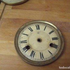 Recambios de relojes: UNA ESFERA ANTIGUA JUNGHANS PARA RELOJ REGULADOR O SOBREMESA- LOTE 165. Lote 158065746