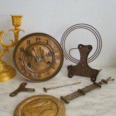 Recambios de relojes: ¡¡GRAN OFERTA!!!ANTIGUA MAQUINARIA PHS DE ALEMANIA AÑO 1890-00 PARA RESTAURAR O PIEZAS- LOTE 134. Lote 158394786