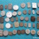 Recambios de relojes: LOTE DE 40 ESFERAS DE RELOJ ANTIGUAS. Lote 158653326
