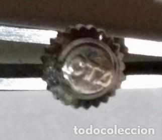 Recambios de relojes: TIJA CON CORONA ORIGINAL DE UN CAL. CITIZEN 5270 - Foto 2 - 158887134