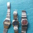 Recambios de relojes: LOTE DE 3 RELOJES MECÁNICOS. Lote 159035346