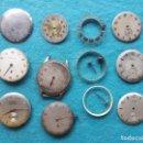 Recambios de relojes: LOTE DE MÁQUINAS Y ESFERAS DE RELOJES PARA CABALLERO ANTIGUOS. Lote 159037278