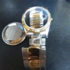 Recambios de relojes - Caja + armis completo ( IMITACION ) ( CD.- SE ) 2 fotos 2ª con las medidas - 159148686