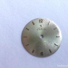 Recambios de relojes: ANTIGUA ESFERA PARA RELOJ ZENITH AUTOMATIC - DIÁMETRO: 28 MM. Lote 159589210