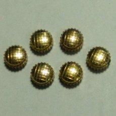 Spare Parts for Watches - 6 coronas chapadas con dibujo - 2 fotos - (cd.- Z01 ) - 159844310