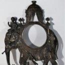 Recambios de relojes: FRONTAL DE RELOJ. BRONCE S. XVIII. Lote 160173834