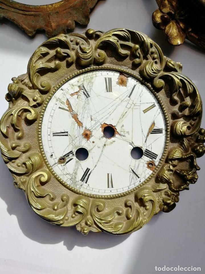 ANTIGUO FRONTAL RELOJ IMPERIO EN BUEN ESTADO- CON ESFERA A RESTAURAR-LOTE 174 (Relojes - Recambios)