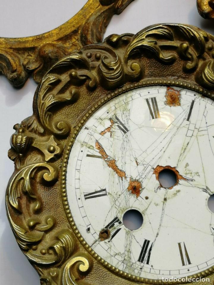 Recambios de relojes: ANTIGUO FRONTAL reloj IMPERIO EN BUEN ESTADO- CON ESFERA A RESTAURAR-LOTE 174 - Foto 2 - 160307886