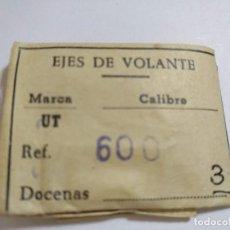 Recambios de relojes: EJES DE VOLANTE CAL. UNITAS 600 ( PARA MAS REF. VER LAS FOTOS.. Lote 160562794