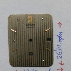 Recambios de relojes: ESFERA SEIKO (CD- T08). Lote 161085162