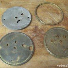 Recambios de relojes: 3 PUERTAS ATRAS DESPERTADOR-ART-NOUVEAU Y 1 CERQUILLO AÑO 1910- LOTE 183. Lote 161623706