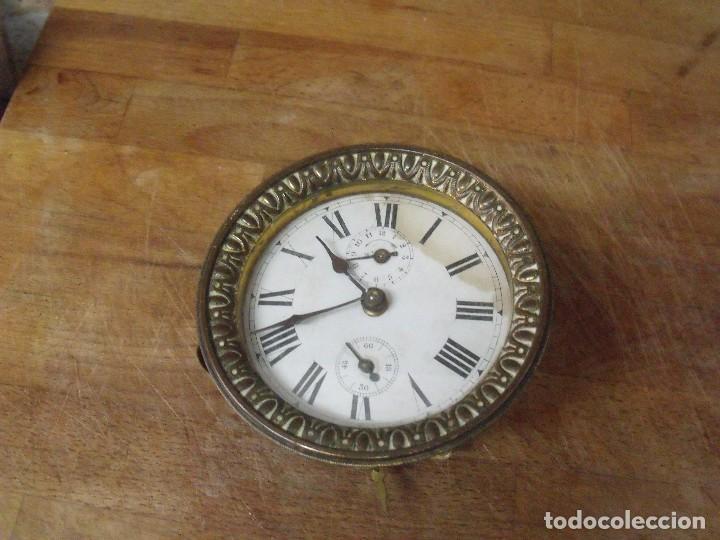 UNA MAQUINARIA PARA DESPERTADOR ART-NOUVEAU-AÑO 1910- LOTE 183-PARA RESTAURAR O PIEZAS (Relojes - Recambios)