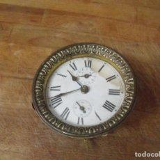 Recambios de relojes: UNA MAQUINARIA PARA DESPERTADOR ART-NOUVEAU-AÑO 1910- LOTE 183-PARA RESTAURAR O PIEZAS. Lote 161629194