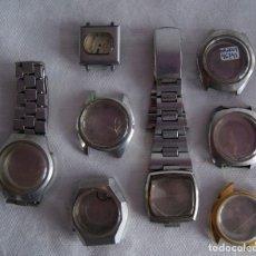 Recambios de relojes: LOTE DE 8 CAJAS ORIENT Y SEIKO AUTOMATICOS R10. Lote 161720366