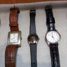 Recambios de relojes: RELOJES DE PULSERA. LOTE DE 3 RELOJES PARA PIEZAS Y RECAMBIOS. DECORACIÓN. . Lote 162591754