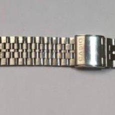 Recambios de relojes: PULSERA DE ACERO CASIO . ANCHO 18 M/M- LARGO MAX 180 M/M.. Lote 163720758