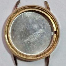 Recambios de relojes: CAJA PLAQUÉ ORO : EXT. 29,1 - INTE.23,3 - GRUESO 5,3 M/M . . Lote 163976942