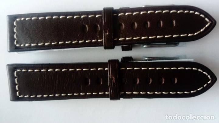 Recambios de relojes: Dos Correas de piel de calidad de 20 mm - Foto 2 - 164166142