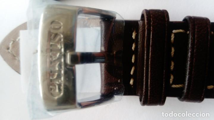 Recambios de relojes: Dos Correas de piel de calidad de 20 mm - Foto 4 - 164166142