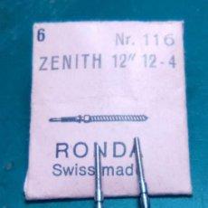 Recambios de relojes: ZENITH - 12 - 12 - 4 - TIJAS 2 UNID. (CD-877). Lote 164674282