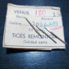 Recambios de relojes: VENUS 180 - TIJAS 3 UNID. (CD-882). Lote 164694278