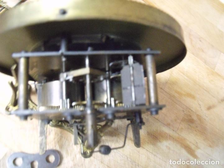 Recambios de relojes: ANTIGUA MAQUINARIA GUSTAV BECKER-LA MEJOR- PARA RELOJ ALFONSINO-AÑO 1890-10-COMPLETA Y FUNCIONAL - Foto 6 - 164748702
