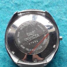Recambios de relojes: CAJA COMPLETA PARA RELOJ INVICTA AUTOMÁTICO DE CABALLERO. Lote 165468946
