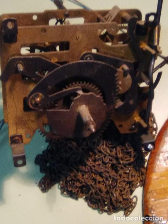 Recambios de relojes: Máquina completa cu-cú - medidas ancho 77,10 m/m - poner a funcionar o recambios (cd-1022)- 2 Fotos - Foto 2 - 165993706