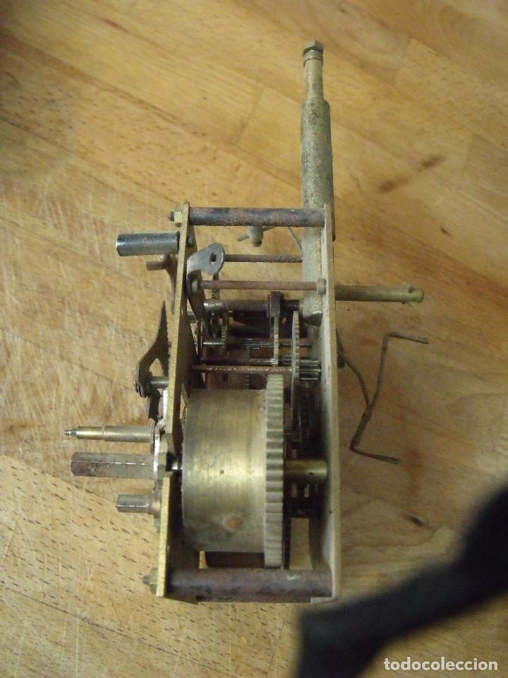 Recambios de relojes: ANTIGUA MAQUINARIA ALEMANA SONERIA EN CAMPANA-MJUY ORIGINAL- LOTE 191 - Foto 3 - 167149196