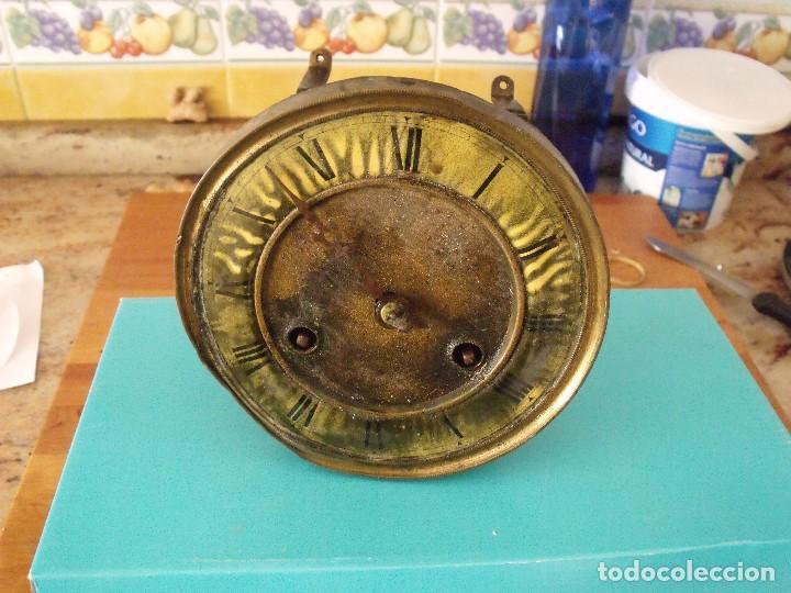 ANTIGUA MAQUINARIA RELOJ ALFONSINO- AÑO 1900- LOTE 194 (Relojes - Recambios)