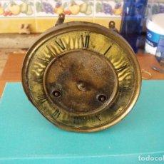 Recambios de relojes: ANTIGUA MAQUINARIA RELOJ ALFONSINO- AÑO 1900- LOTE 194. Lote 167172256