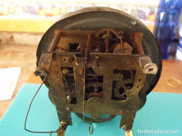 Recambios de relojes: antigua maquinaria reloj alfonsino- año 1900- lote 194 - Foto 4 - 167172256