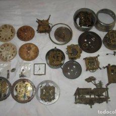 Recambios de relojes: DESPIECE PARA RECAMBIOS DE RELOJES DESPERTADORES ANTIGUOS Y ALGUNA MAQUINA DE RELOJ.. Lote 167327468