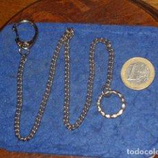 Recambios de relojes: LEONTINA,CADENA PARA RELOJ DE BOLSILLO.. Lote 167424648