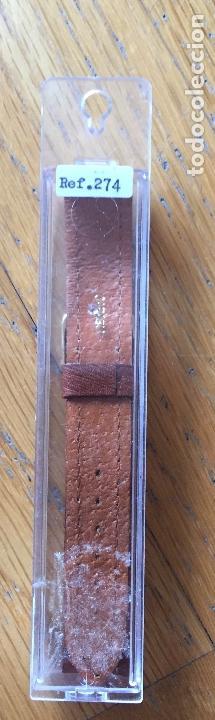 Recambios de relojes: CORREA ORIGINAL PIEL PARA RELOJ CLASICO - Foto 3 - 167520884