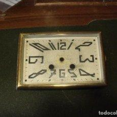Recambios de relojes: ANTIGUA PUERTA CON CRISTAL ESTILO ART-NOUVEAU PARA MAQUINARIA PARIS RELOJ SOBREMESA-LOTE 190. Lote 167662828