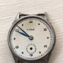 Recambios de relojes: RELOJ TITÁN CARGA MANUAL MILITAR VINTAGE. Lote 167925924